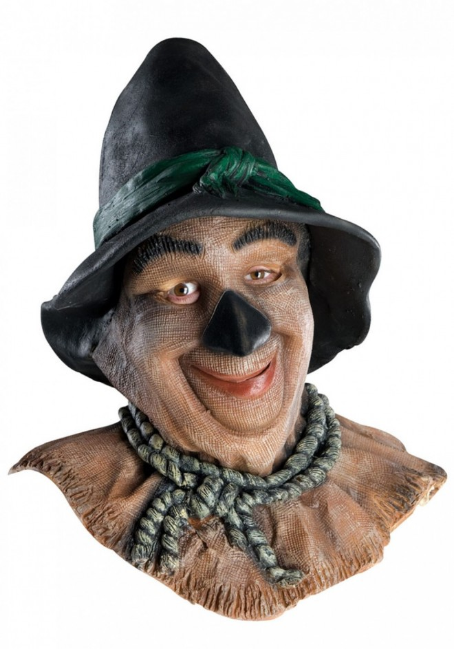 funny mask scarecrow