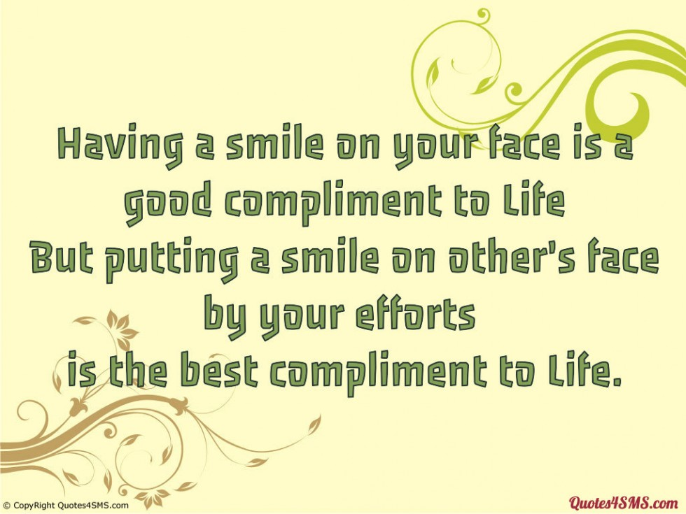 funny sayings compliment