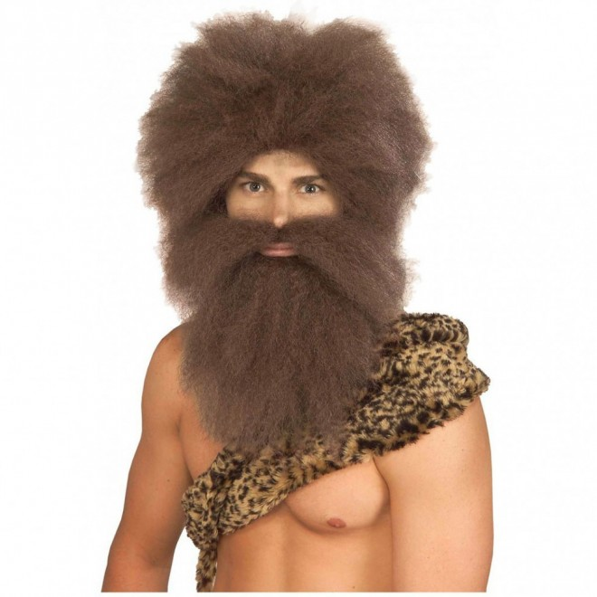 funny wigs ancient man