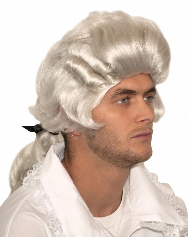 funny wigs court style