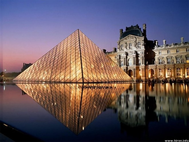 places to visit in paris louvre museum louvre pyramid