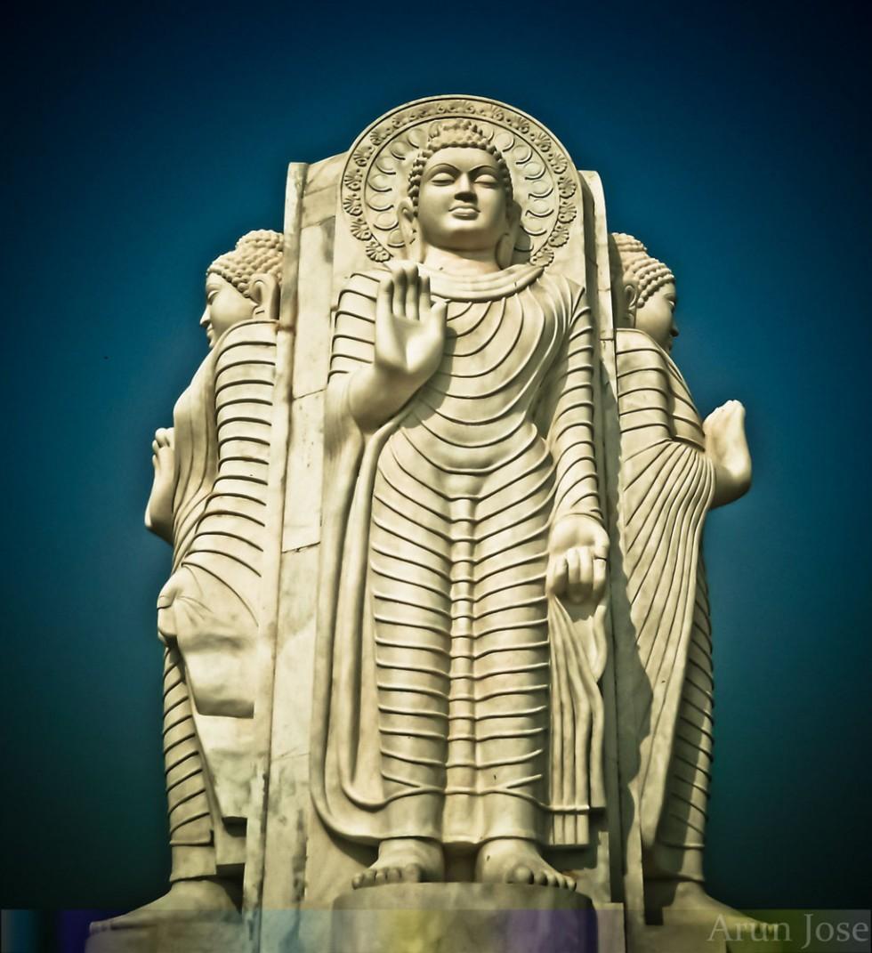 standing gautama buddha0