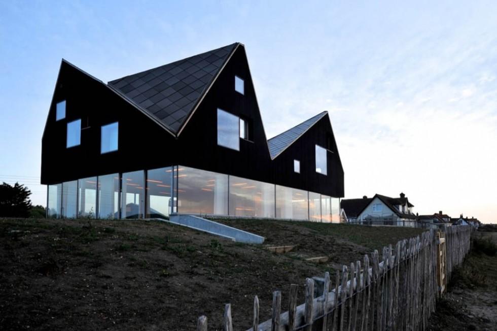 weird houses glass