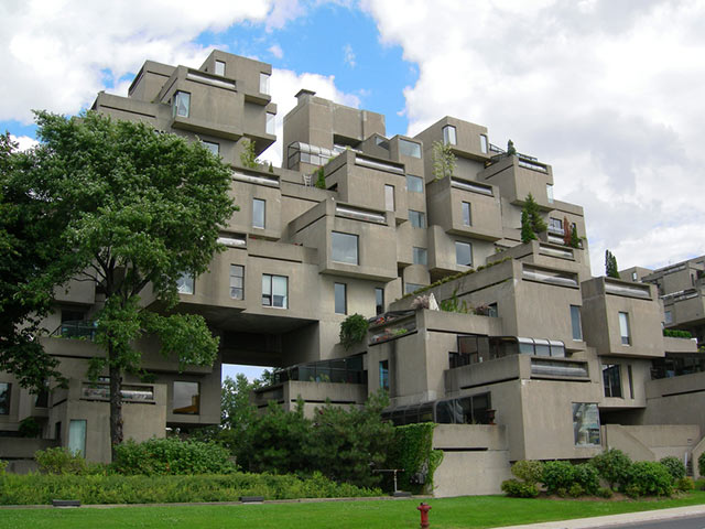 weird houses habitat67