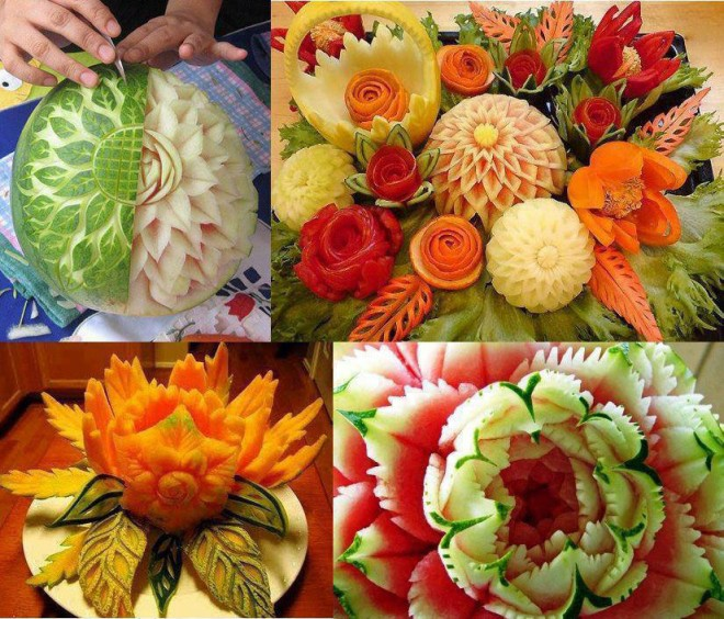 Most amazing food carvings page top viral gossips