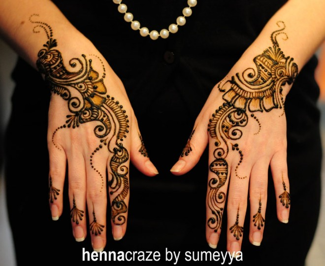 mehndi designs simple