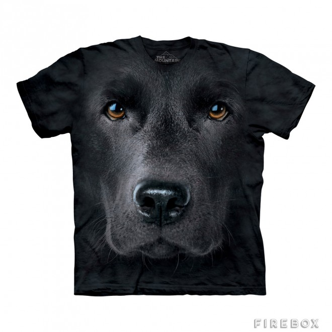 funny t shirts black dog