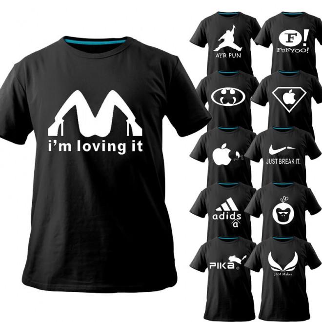 funny t shirts logos