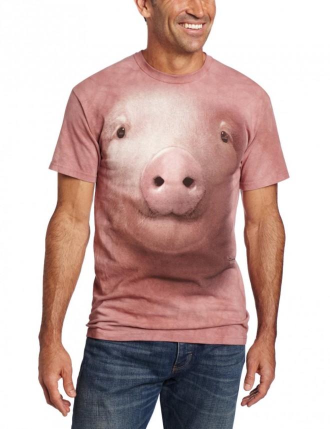 funny t shirts pig