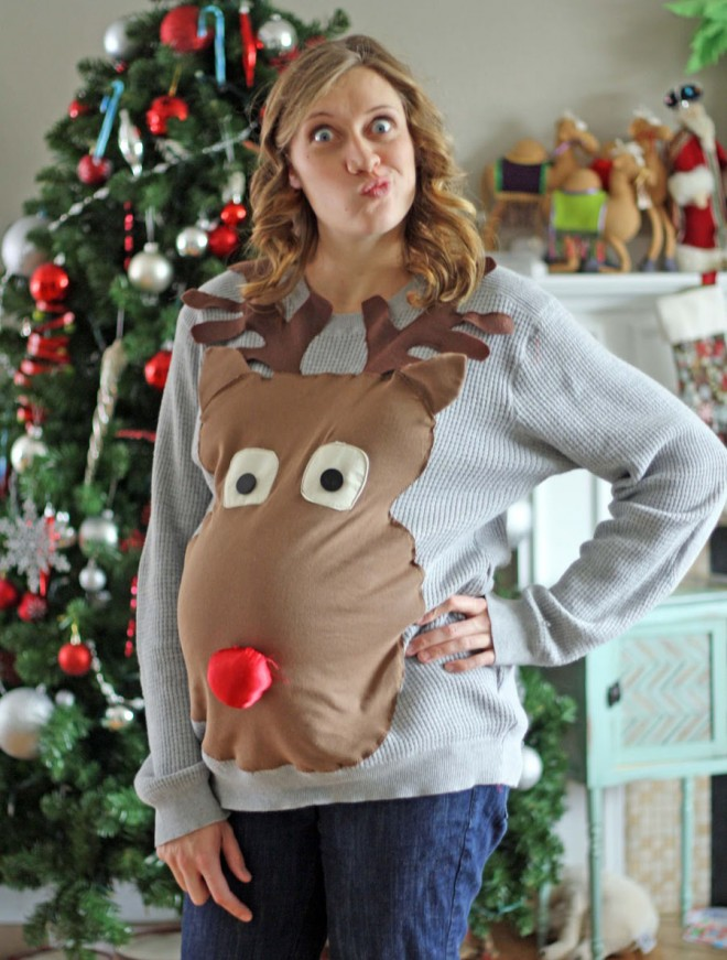 funny t shirts reindeer