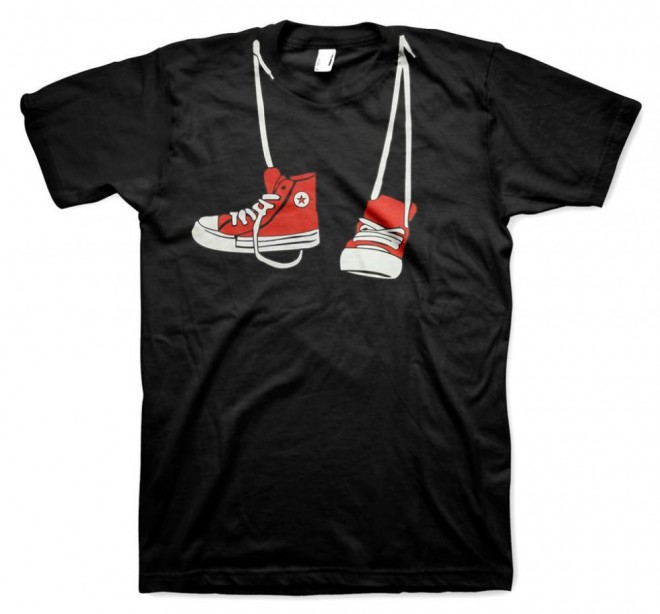 funny t shirts shoes