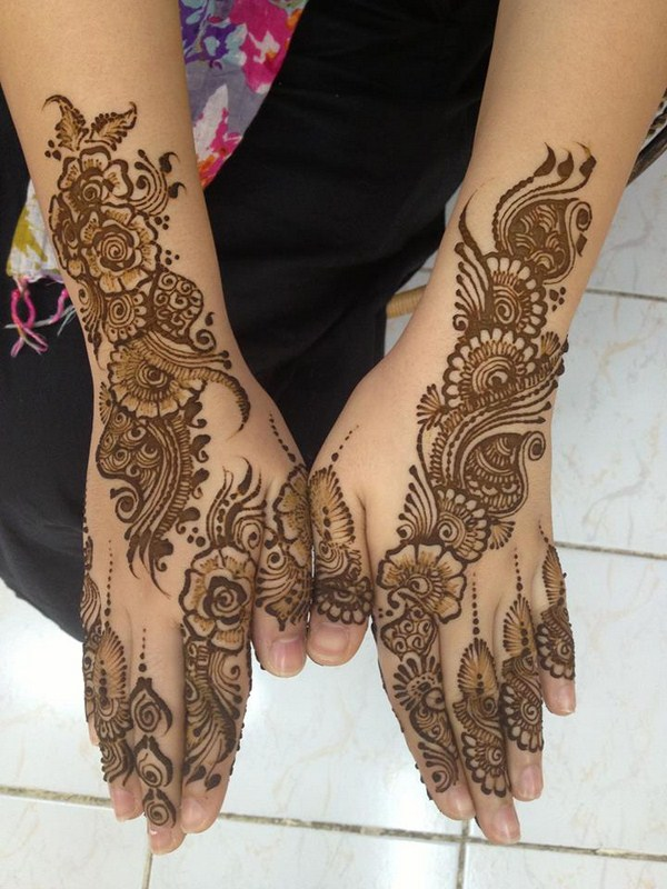 mehndi designs back