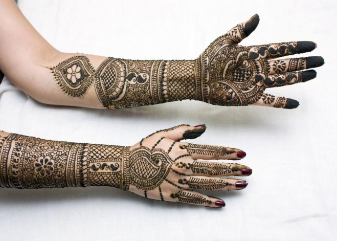 mehndi designs bridal