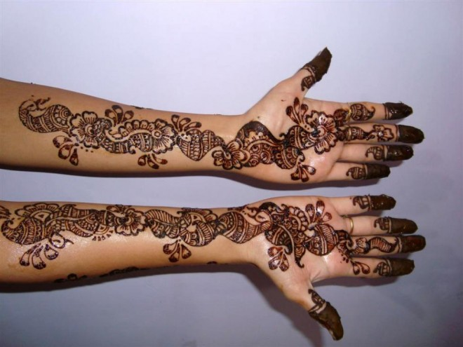 mehndi designs casual