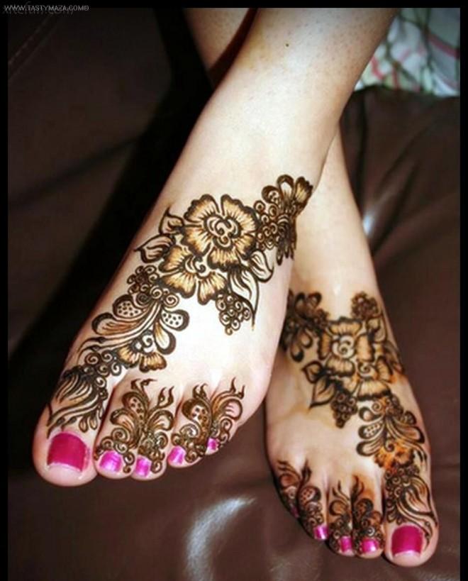mehndi designs floral