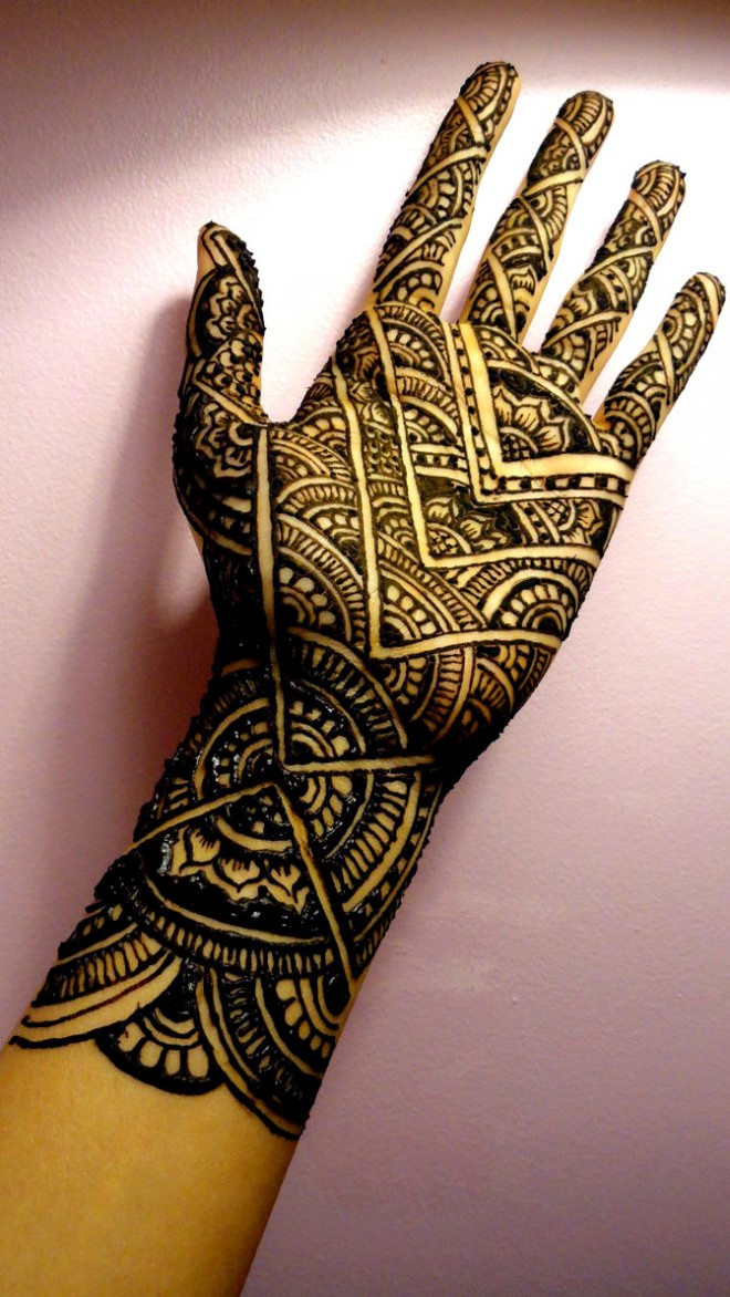 mehndi designs sunrise