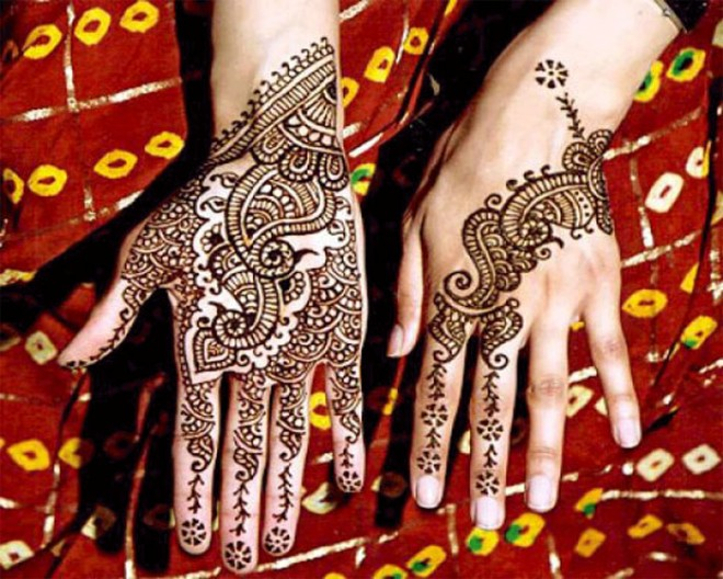 mehndi designs front back