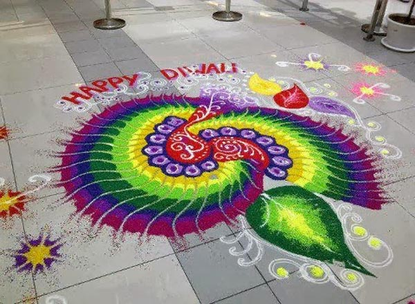 rangoli designs diwali