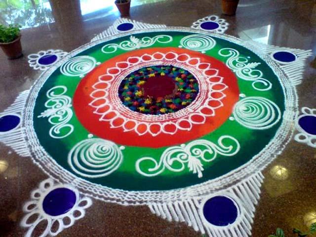Rangoli Design Sanskar Back To Article