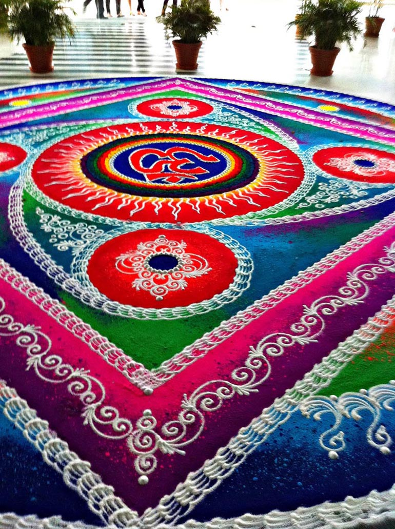Rangoli designs om | Back to Article