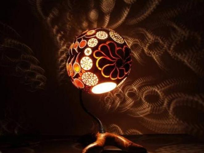 exotic modern night lamp design
