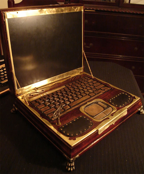 unique steampunk case mods gadgets hi tech hacks