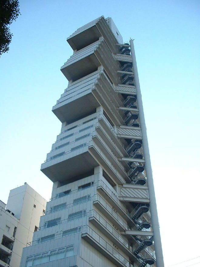 40 strange and fantastic architectures around the world for Architecture buildings around the world
