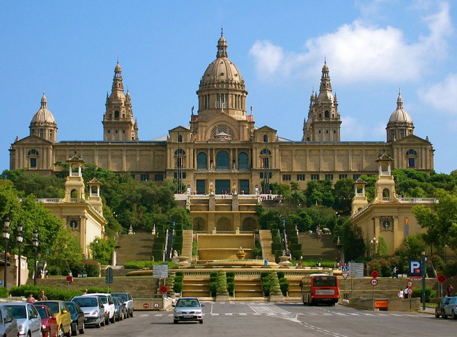 palau macional barcelona architecture photography