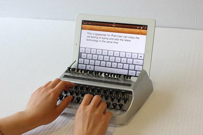 funny type writer gadget