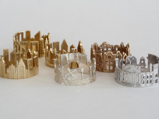 cityscape architecture rings ola shekhtman