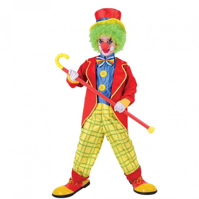 funny children clown picture
