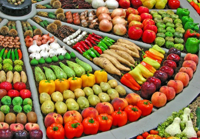 vegetable and fruits market china