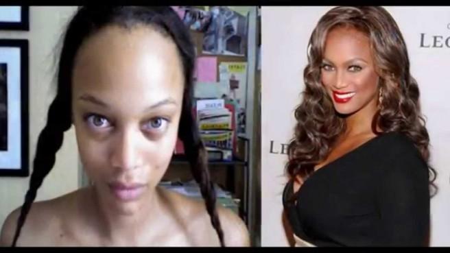 tyra banks celebrities without makeup
