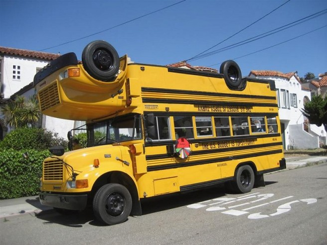 funny bus model car pictures