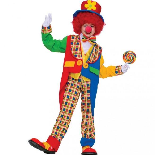 funny children clown picture