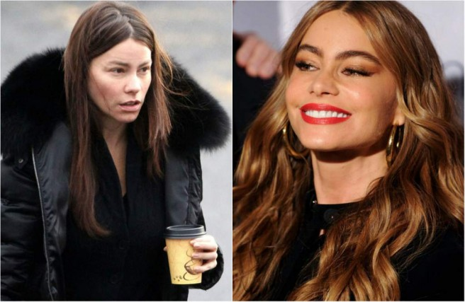 sof vergara celebrities without makeup
