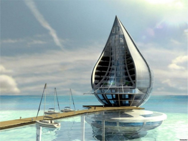 water building resort modern architectural wonders