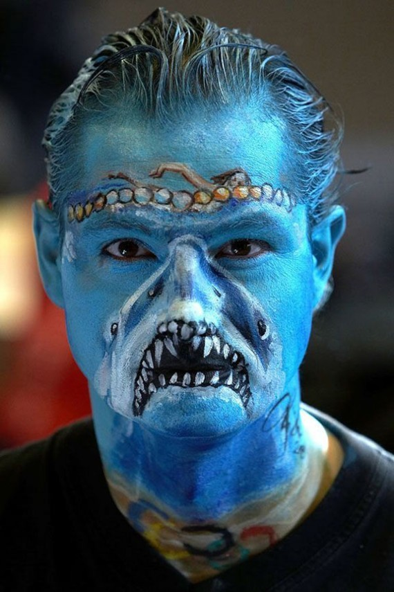 20 funny face painting ideas for your inspiration