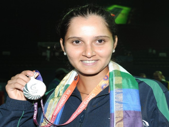 sania mirza celebrities without makeup