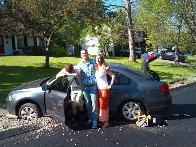 funny family car accidents