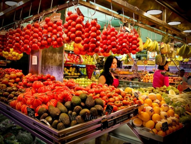 vegetable and fruits market