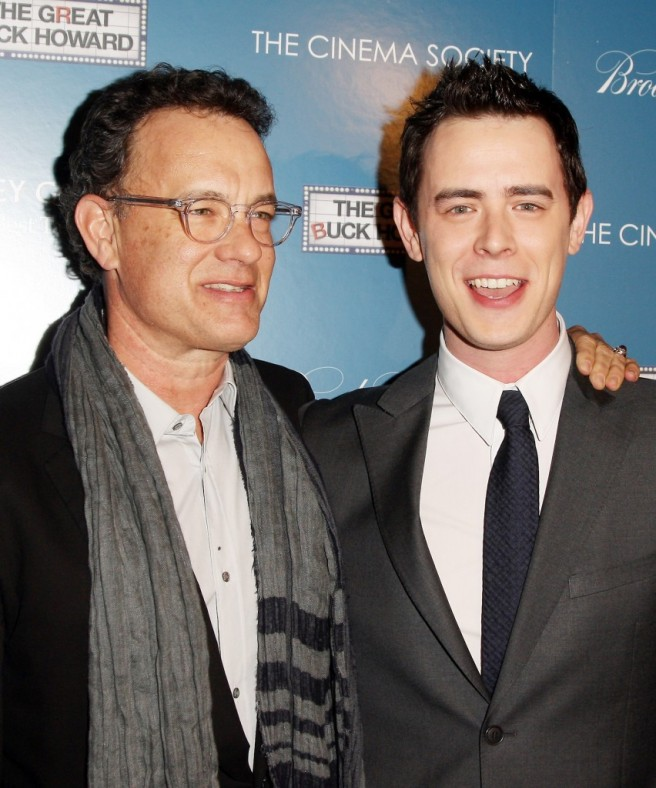 duo tom hanks kid facial similar features
