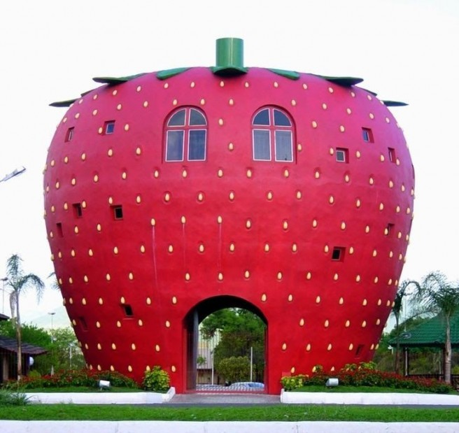 apple novelty architecture
