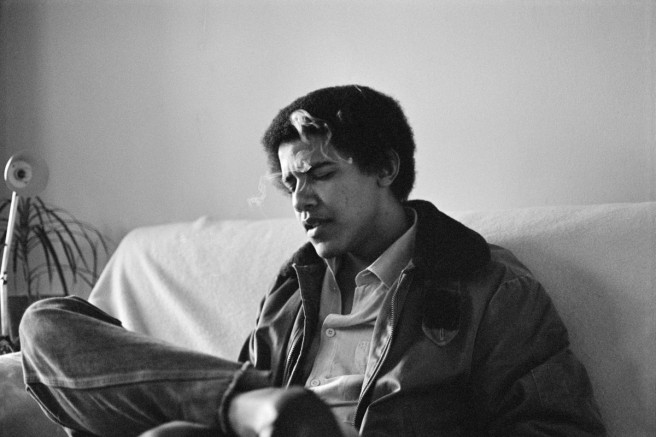 barack obama celebritie old photo