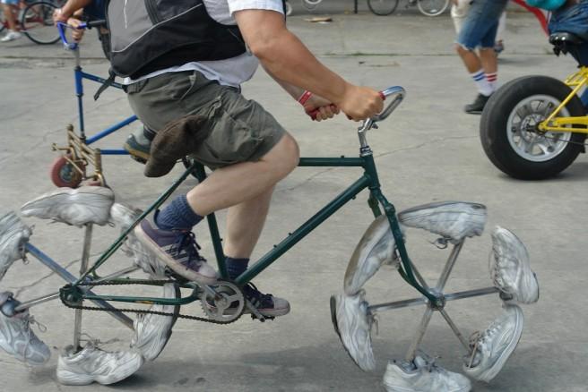 shoe creative bike design photography