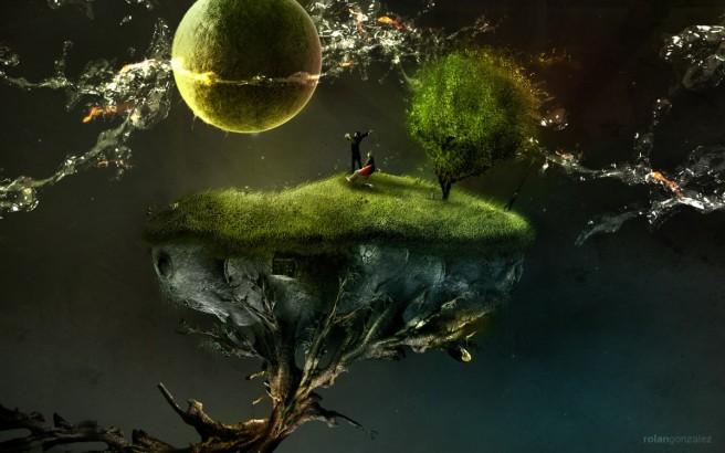 tree surrealism photography