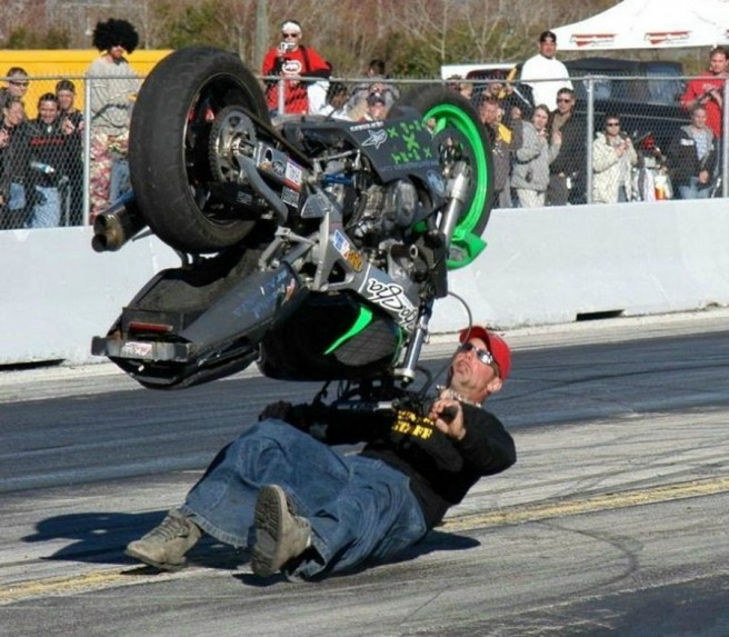 funny bike accidents