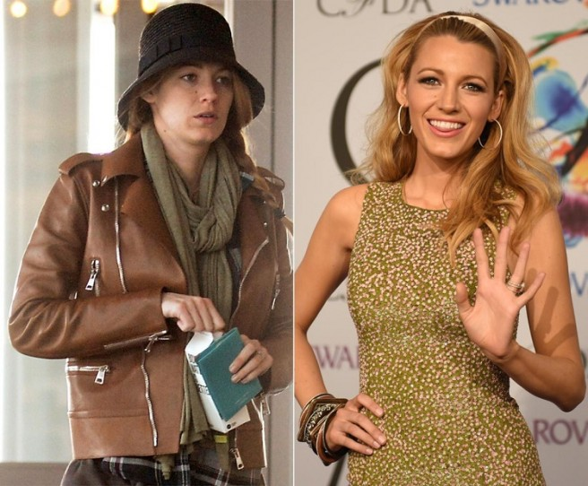 blake lively celebrities without makeup