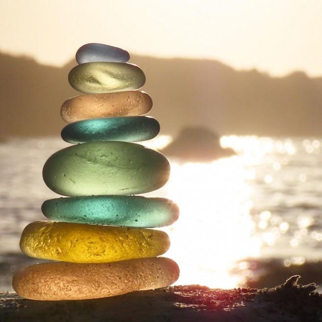 photography seaglass balance tidecharmers