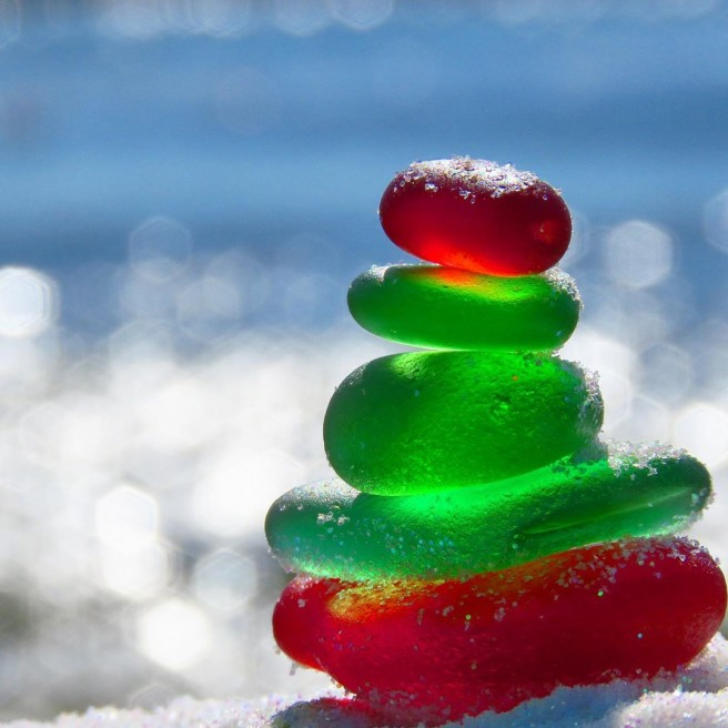 photography seaglass christmas tidecharmers